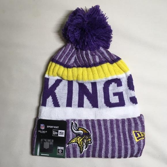1f13af7b532 Minnesota Vikings beanie hat